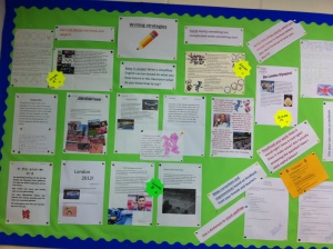 writing Strategies Wall Display
